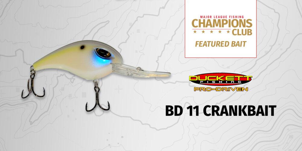 Image for Featured Bait: Duckett Fishing Pro-Driven BD 11 Crankbait