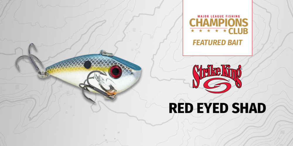 Image for Featured Bait: Strike King Red Eyed Shad