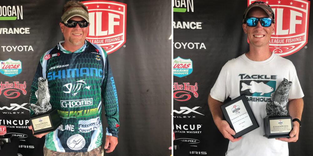 Image for Farmersburg's Wilkinson Wins Phoenix Bass Fishing League on Ohio River-Tanners Creek