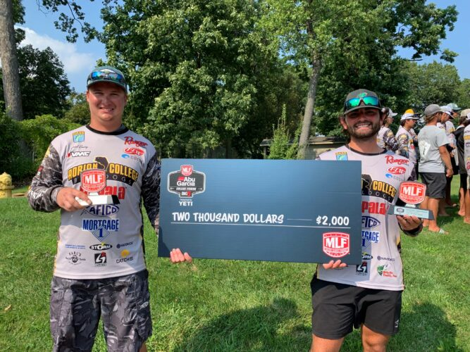 Image for Adrian College Finishes 1-2-3 at Abu Garcia College Fishing Tournament on the Detroit River