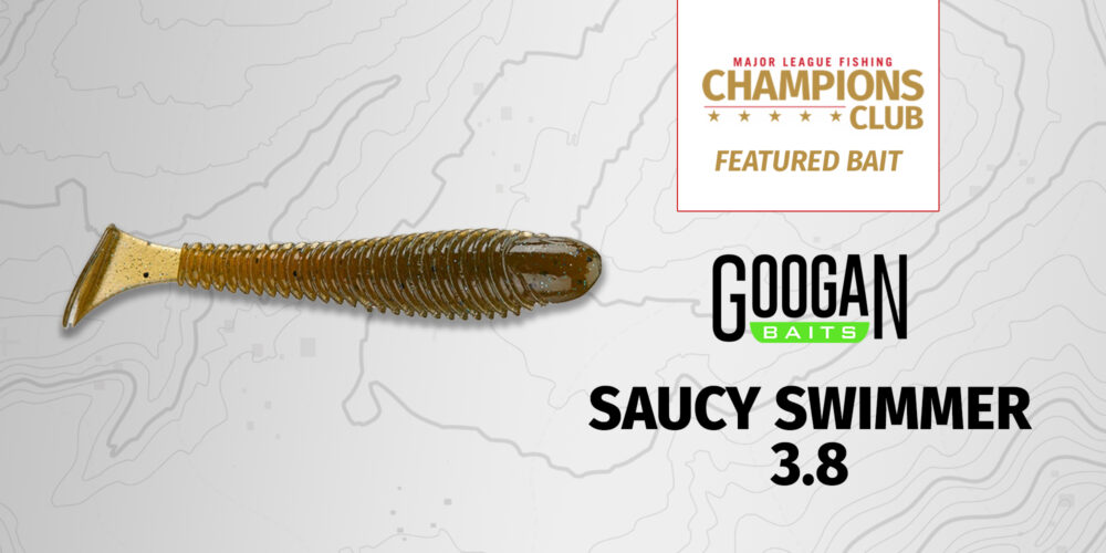 Image for Featured Bait: Googan Baits Saucy Swimmer 3.8