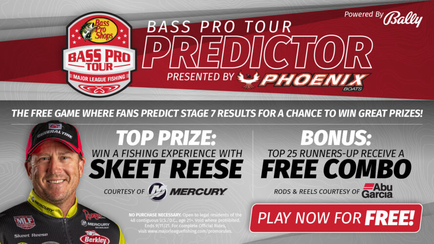 Image for Major League Fishing Launches Free-to-Play Bass Pro Tour PREDICTOR Game Presented by Phoenix to Win Fishing Trip with Skeet Reese