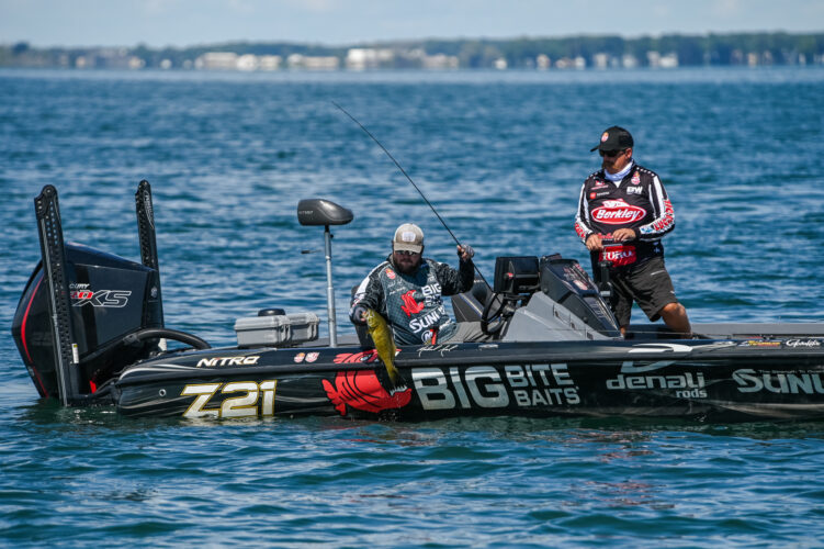 Image for Michael Neal Leads First Day at Bass Pro Tour CarParts.com Stage Seven at Lake St. Clair Presented by Covercraft