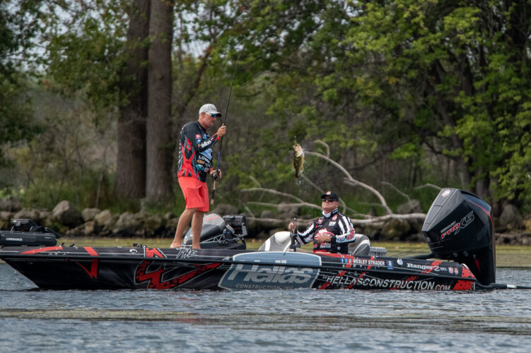Image for Wesley Strader Takes Early Group B Lead at Bass Pro Tour CarParts.com Stage Seven at Lake St. Clair Presented by Covercraft