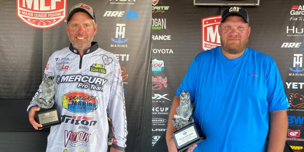 Image for Lamar's Meunier Wins Two-Day Phoenix Bass Fishing League Super Tournament on Kentucky-Barkley Lakes