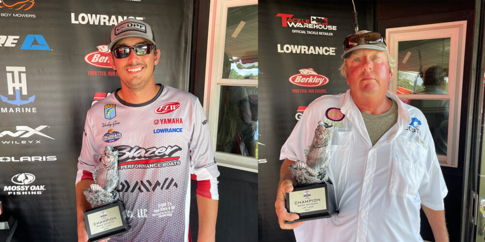 Image for Clanton's Gore Wins Two-Day Phoenix Bass Fishing League Super Tournament on Lay Lake