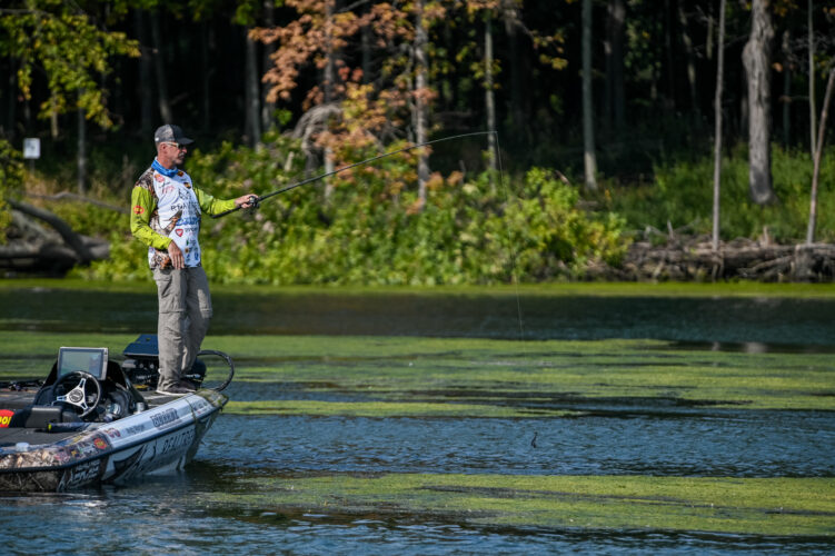 Image for Morgan Rolls in Knockout Round, Wheeler Clinches AOY at Bass Pro Tour CarParts.com Stage Seven at Lake St. Clair Presented by Covercraft