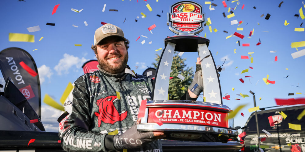 Image for Never a Doubt: Neal Cruises to First Career Pro-Level Win