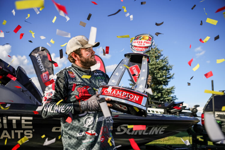 Image for Michael Neal Dominates to Earn First Career Win at MLF Bass Pro Tour CarParts.com Stage Seven at Lake St. Clair Presented by Covercraft