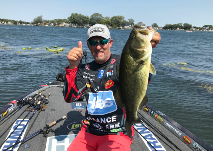 Image for Strader Targets Largemouth for Qualifying Round Win at Bass Pro Tour CarParts.com Stage Seven Presented by Covercraft at Lake St. Clair