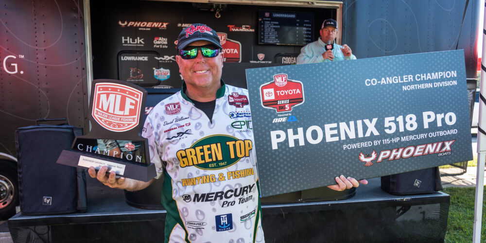 Image for Williams Earns 9th Co-Angler Win