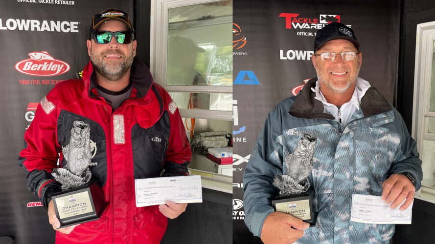 Image for Lebanon's Johnson Wins Two-Day Phoenix Bass Fishing League Super Tournament on Old Hickory Lake Presented by Googan Baits