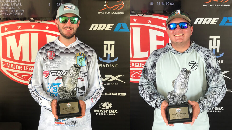 Image for Tampa's Greico Wins Two-Day Phoenix Bass Fishing League Super Tournament on Lake Okeechobee