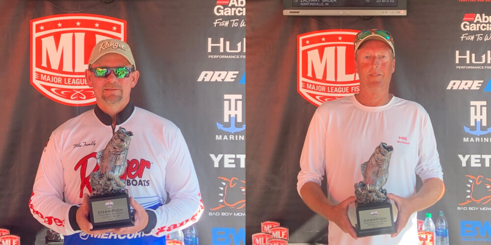 Image for Belleville's Trombly Wins Two-Day Phoenix Bass Fishing League Super Tournament on Detroit River