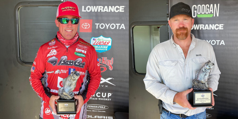 Image for Lake Wylie's Myers Wins Two-Day Phoenix Bass Fishing League Super Tournament on Lake Wylie