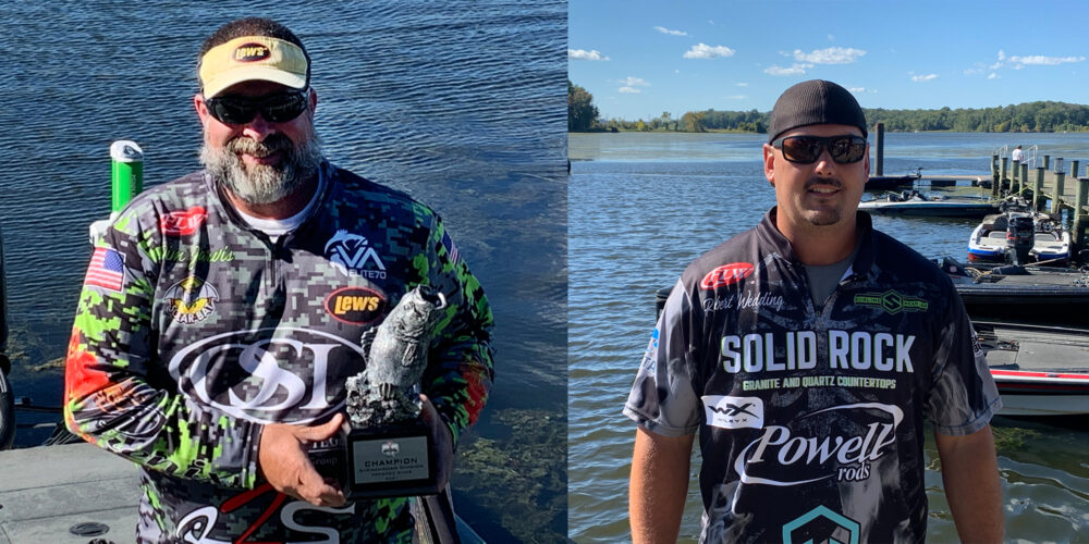 Image for Timberville's Jarvis Wins Two-Day Phoenix Bass Fishing League Super Tournament on Potomac River