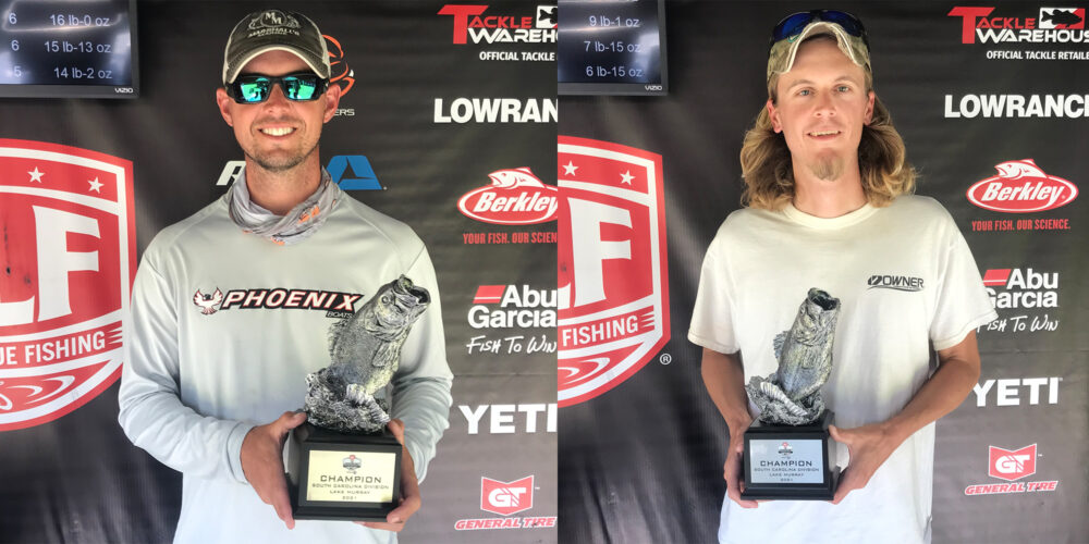 Image for Summerville's Beavers Wins Two-Day Phoenix Bass Fishing League Super Tournament on Lake Murray