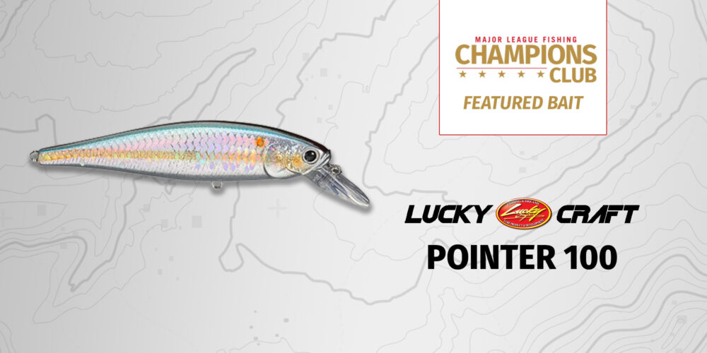 Image for Featured Bait: Lucky Craft Pointer 100