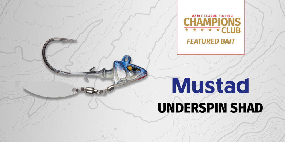 Image for Featured Bait: Mustad Underspin Shad