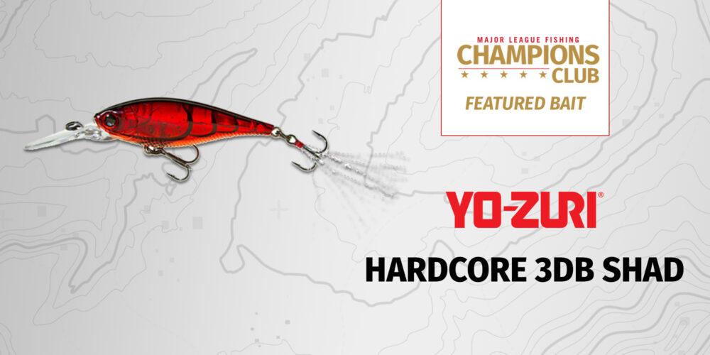 Image for Featured Bait: Yo-Zuri Hardcore 3DB Shad