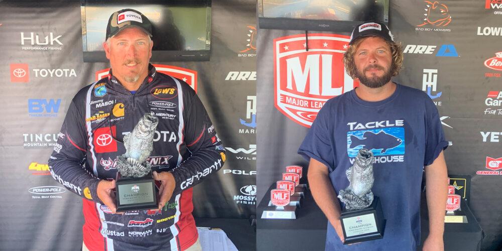 Image for Rogersville's Mason Wins Two-Day Phoenix Bass Fishing League Super Tournament on Pickwick Lake