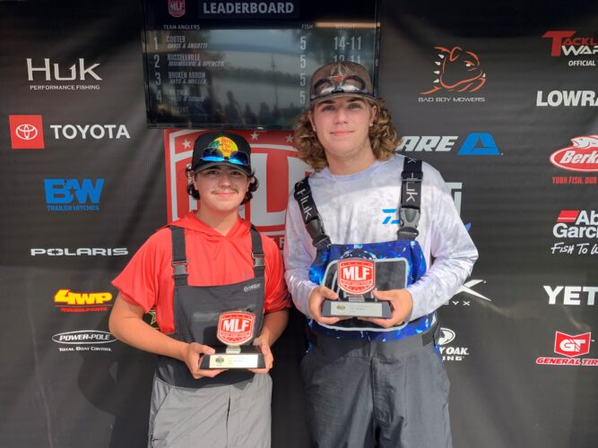 Image for Missouri's Cooter High School Wins U.S. Army High School Fishing Open at Lake Dardanelle Presented by Googan Baits