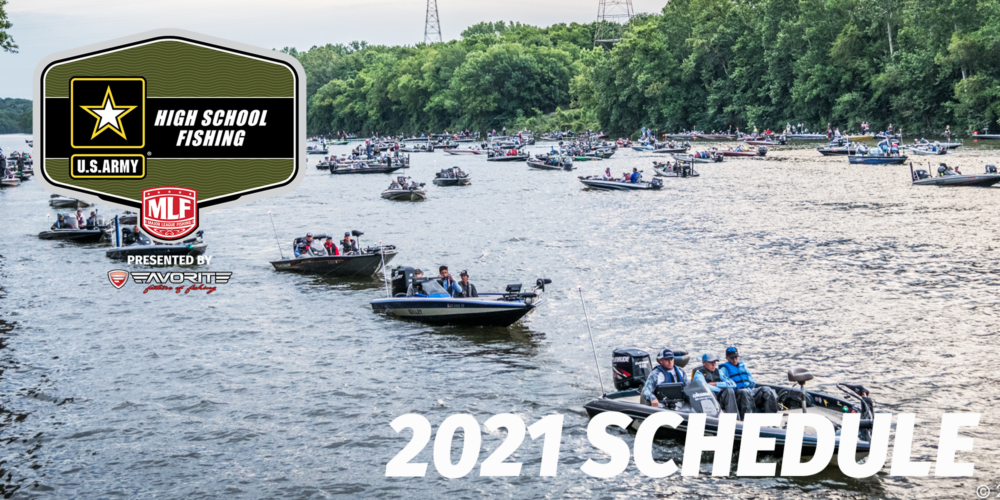 Image for 2021 High School Fishing Schedule