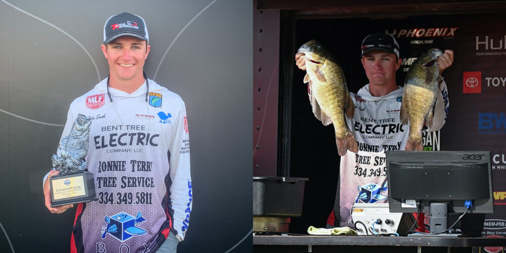 """Image for Smith Wins Wheeler Lake Regional on a """"Magical Spot"""""""