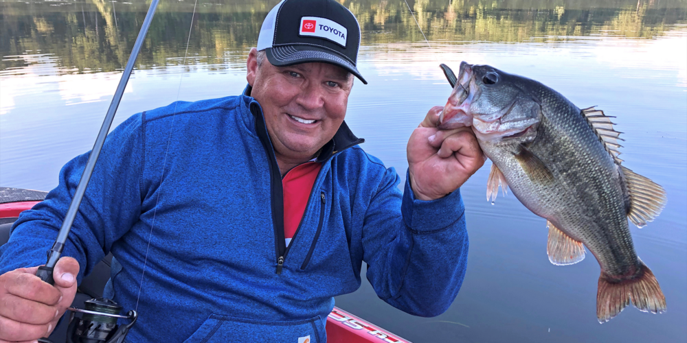 Image for Scroggins Feeds Finicky Bass a Petey Rig (and So Should You)