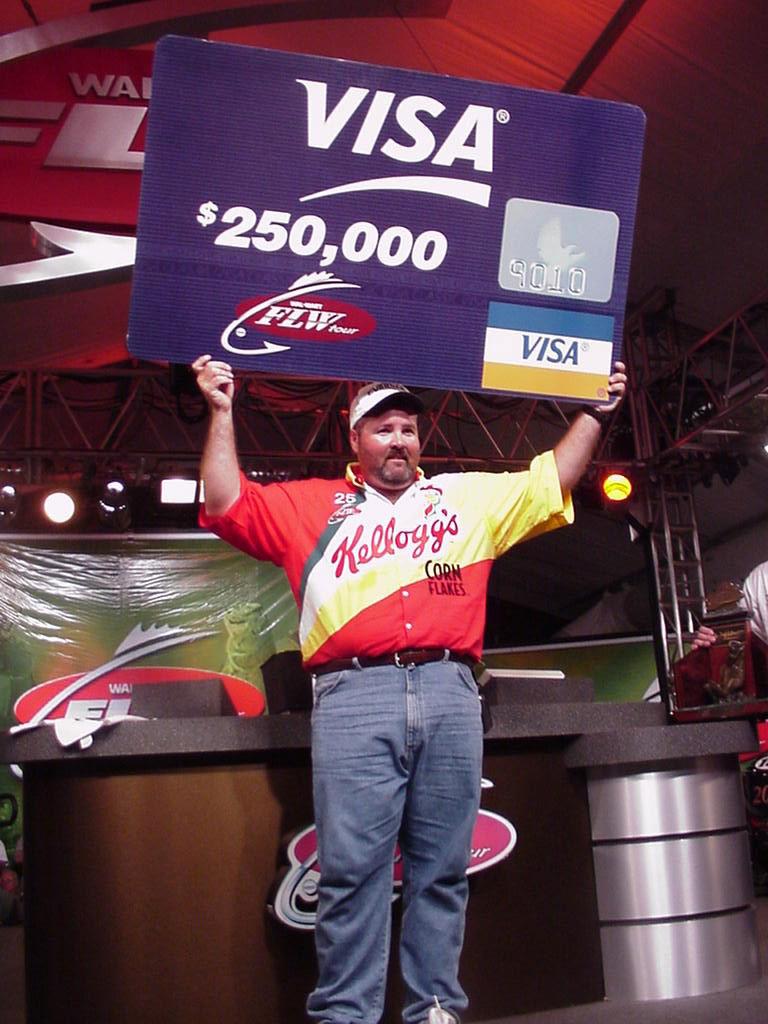 Image for Hibdon captures FLW Championship, $250,000 first prize