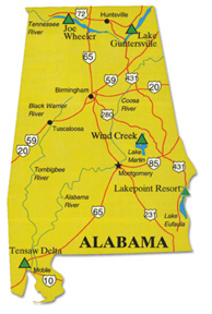 Image for Bama's bass trail