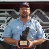 Doug Evans of Houston, Texas, claimed first place and $2,107 in the 160-competitor Co-angler Division with five bass weighing 16 pounds, 10 ounces.