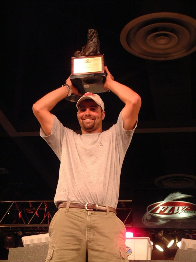 Image for Ives crowned 2002 All-American co-angler champion