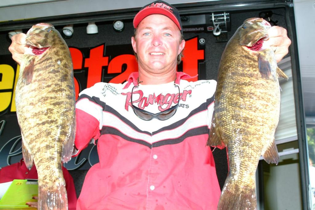 Image for McGahan masters Thousand Islands during opening round of EverStart tourney
