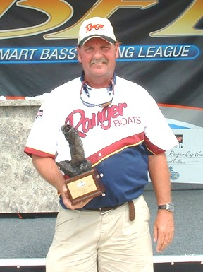 Image for Walters best boater at Bama Division tournament