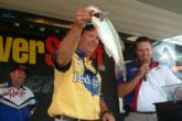 Pro Steve Kennedy of Auburn, Ala., finished fourth with a two-day total of 30 pounds, 8 ounces.