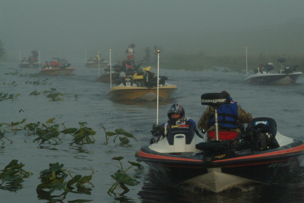 Image for Fog delays FLW Tour competition at final takeoff