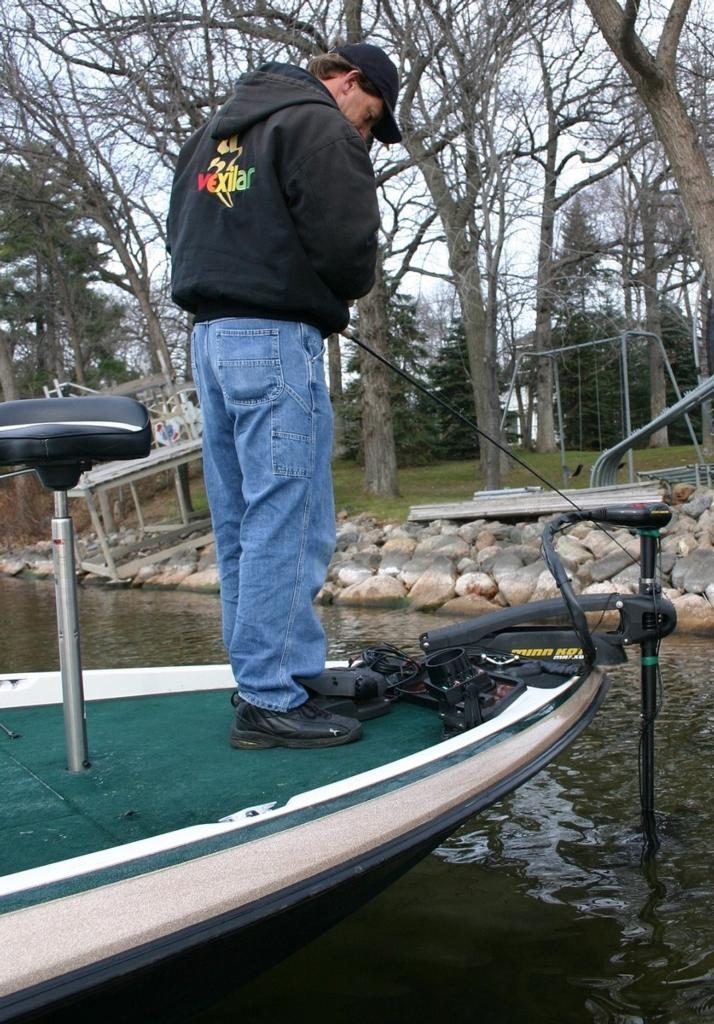 Image for ABCs of understanding flashers, fish finders for bass fishing