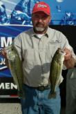 Charlie Crawford trails the co-angler leader by only 11 ounces.