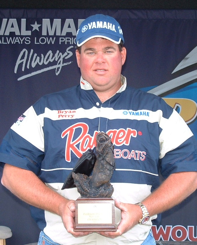 Image for Perry best boater in BFL event on Kerr Lake