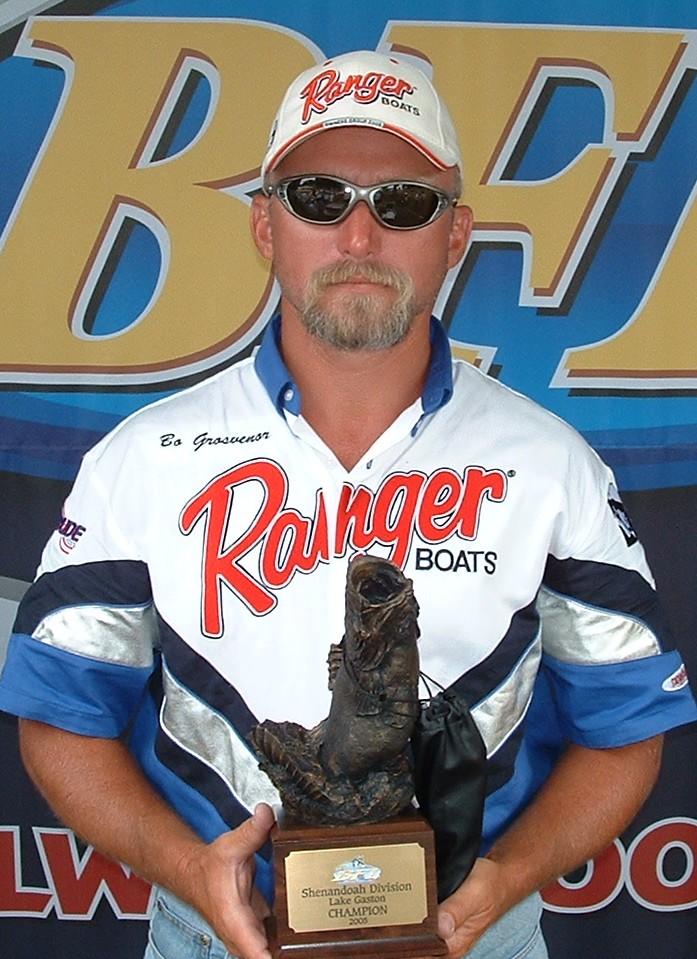 Image for Grosvenor wins Wal-Mart Bass Fishing League event on Lake Gaston