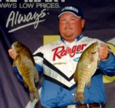 Jacob Powroznik of Prince George, Va., grabbed the fourth slot for the pros with a limit weighing 16 pounds, 3 ounces.