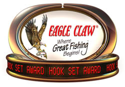 Image for Bosley bags Eagle Claw Hook Set Award