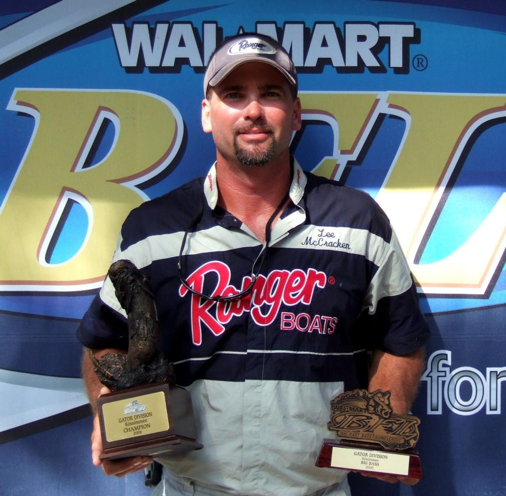 Image for McCraken wins Wal-Mart Bass Fishing League event on Kissimmee River