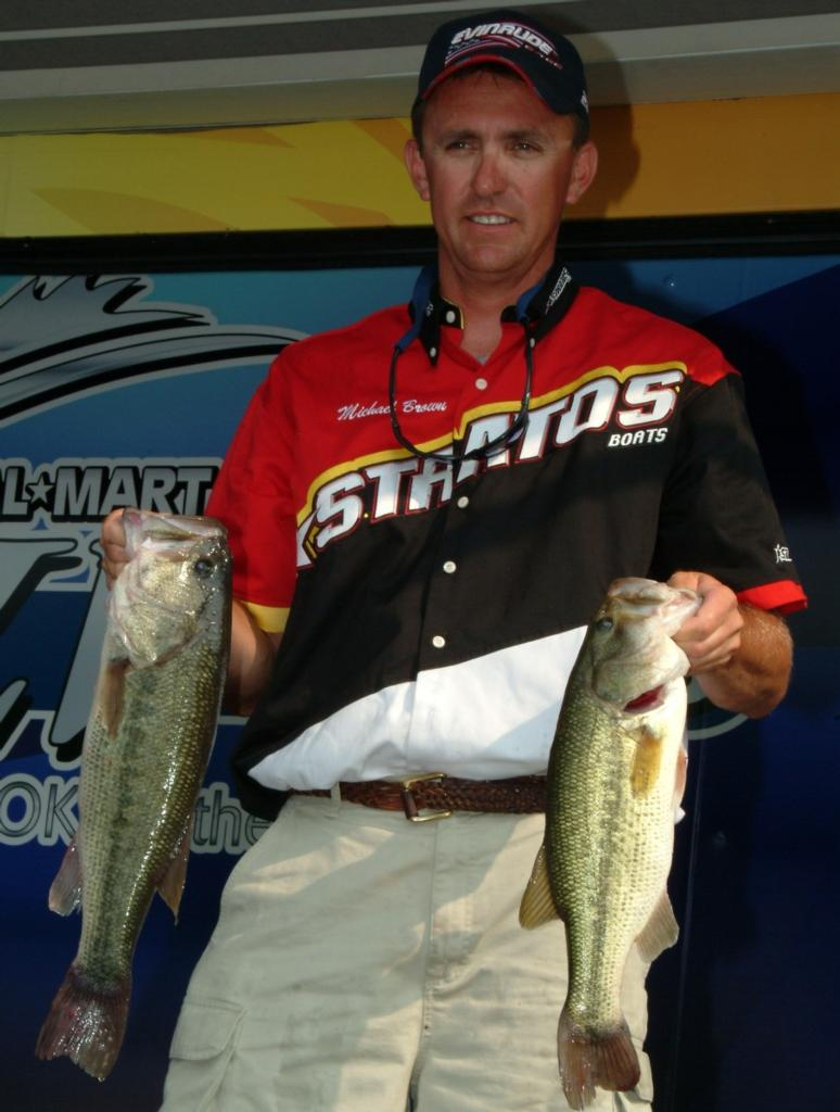 Image for Brown climbs to top at Old Hickory