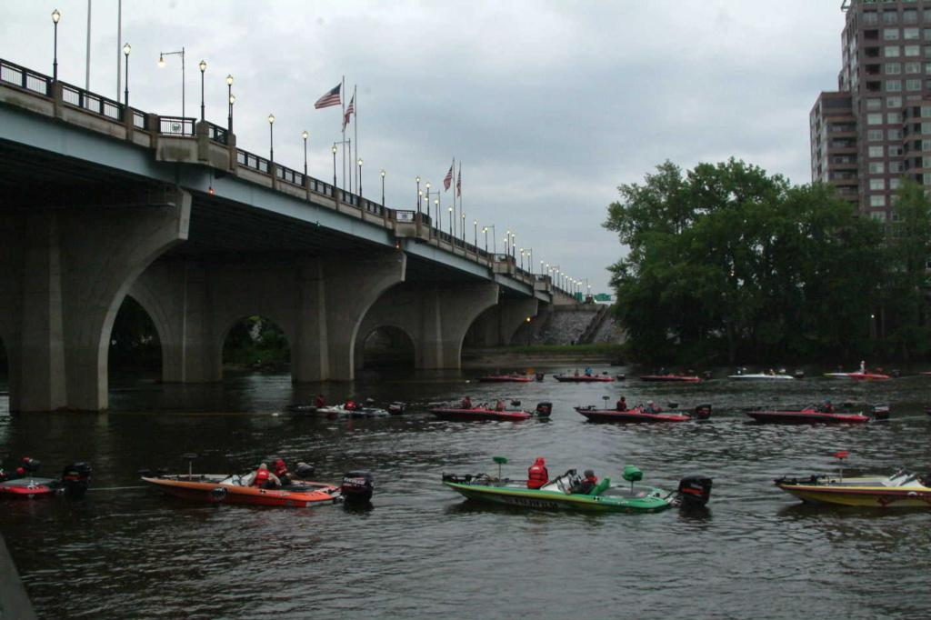 Image for All-American off to soggy start on Connecticut River