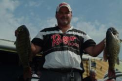 Pro Christopher King of South Amherst, Ohio, grabbed fourth place with a catch of 18 pounds, 6 ounces.