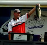 Tim Pettit earned $450 for the Snicker's Big Bass award in the Pro Division thanks to a 5-pound, 10-ounce bass.