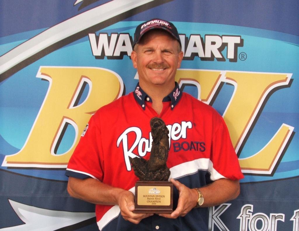 Image for Monson wins Wal-Mart Bass Fishing League Super Tournament on Barren River