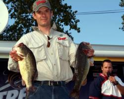 Pro Kevin Kartesz of Jamestown, N.Y., placed third with a limit weighing 18 pounds, 9 ounces.